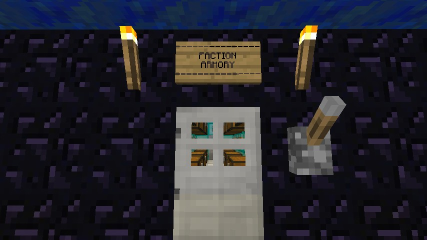 Faction Base Minecraft Project
