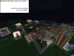 Modern Cities and Villages Minecraft Project
