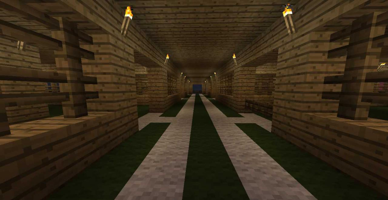 Good Animal Storage House Minecraft Project