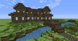 Detailed Medieval Manor. Minecraft Map & Project