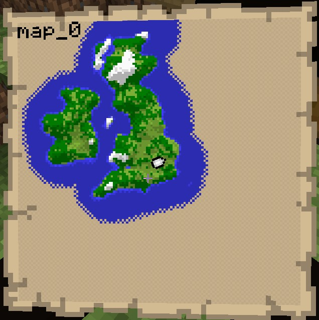 the United Kingdom - Custom Map Minecraft Project