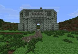 Awsome castle gate (can be operated) Minecraft Map & Project