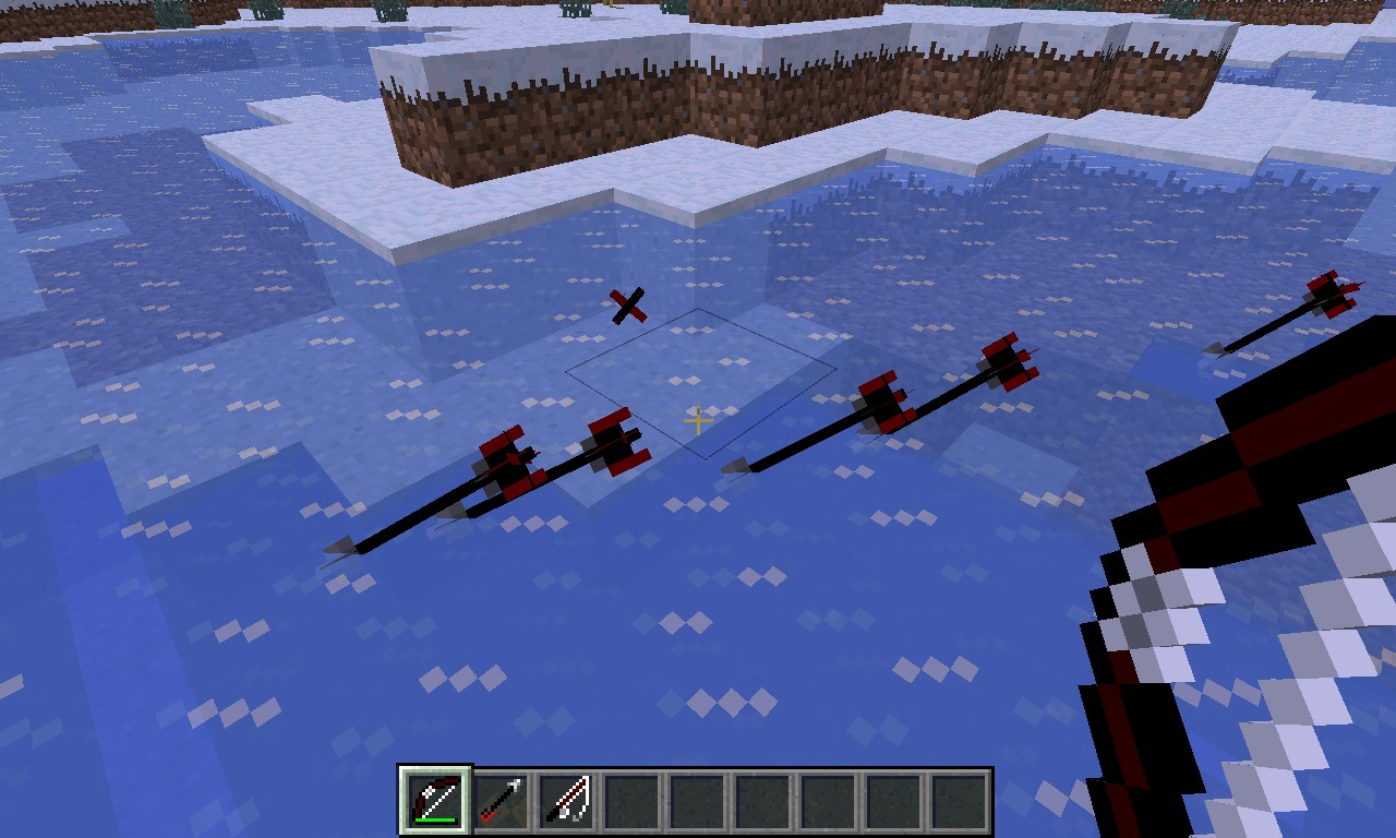 Better bow fishing rod minecraft texture pack for Bow fishing rod