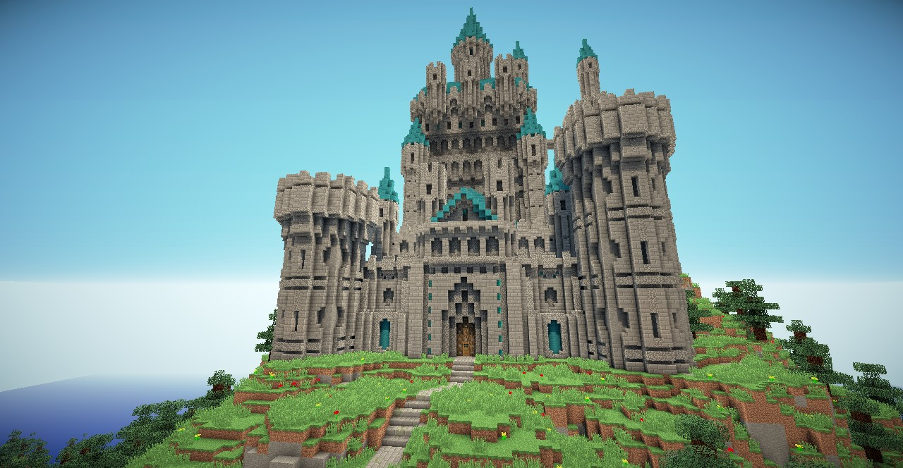 another castle  minecraft project