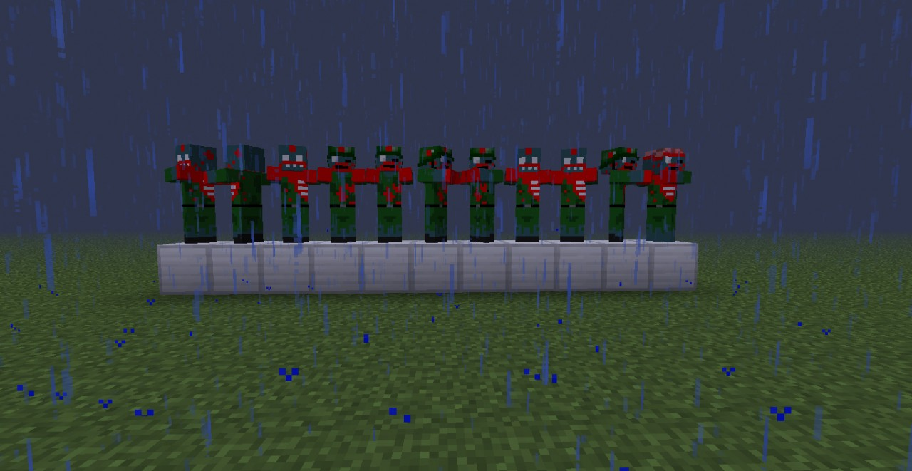 Zombie army texture mob pack Minecraft Texture Pack