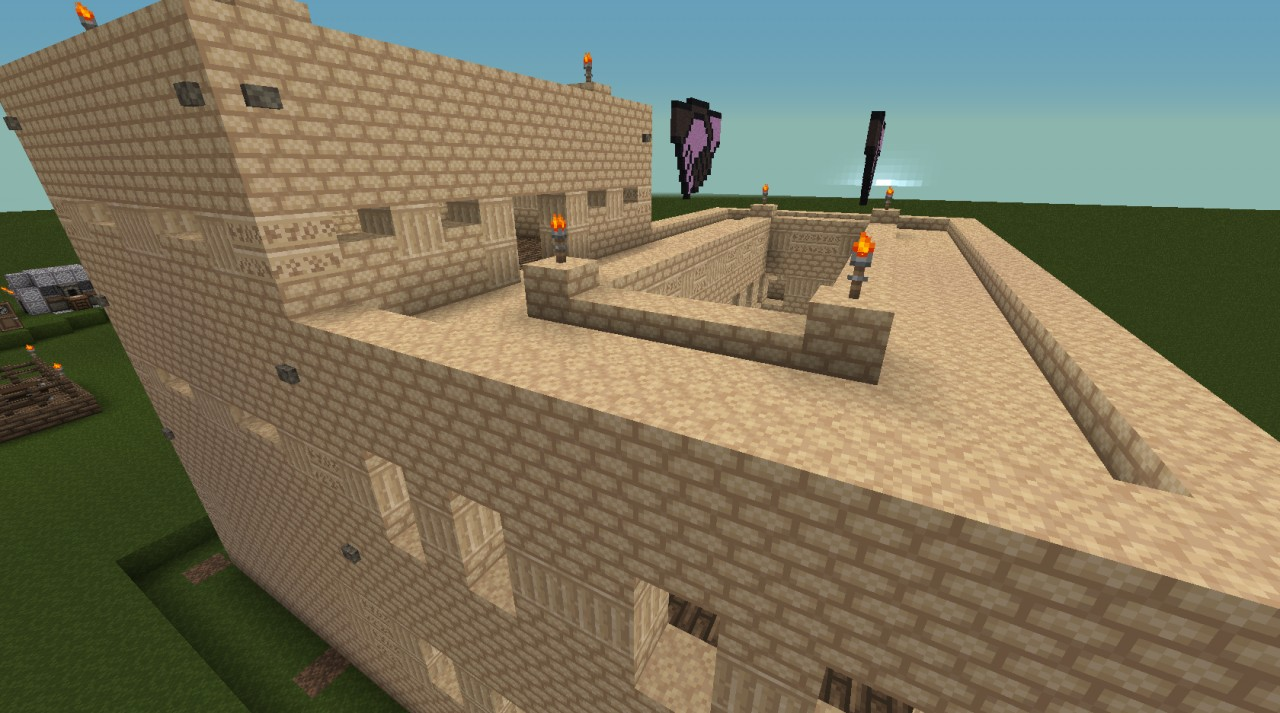 Sandstone House Minecraft Project