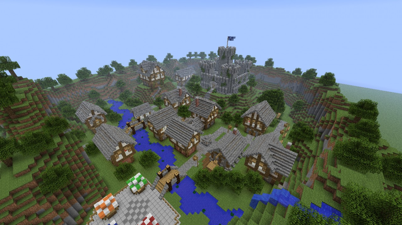 Minecraft Medieval City Download Medieval City [DOWNLOA...