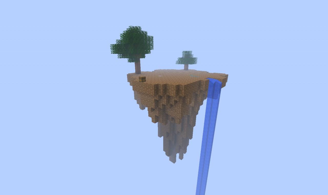 sky island survival minecraft