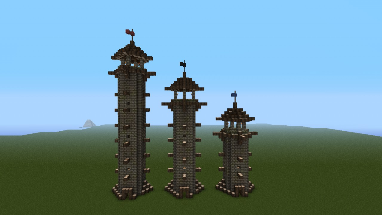 Minecraft Medieval City Download Medieval Guard/Watch T...