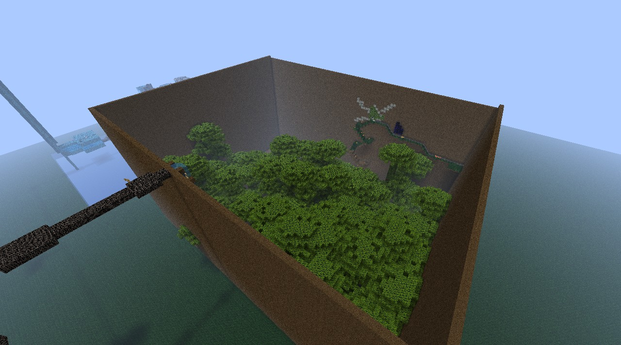 Part of the map (jungle zone)