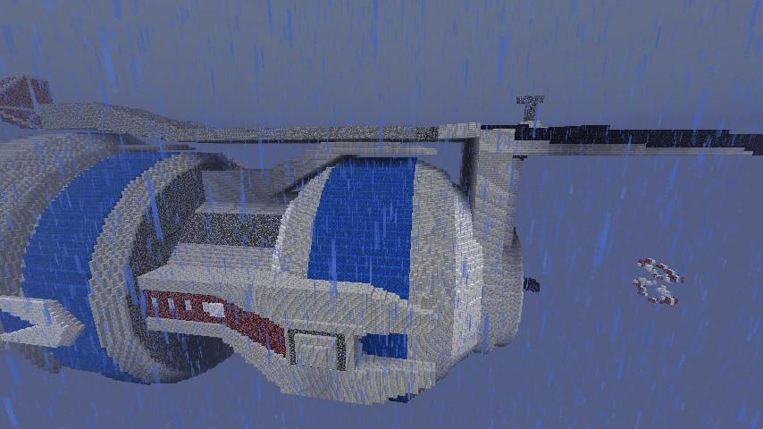 Babylon 5 Space Station Minecraft Project on deep space 9 schematics, robotech schematics, andromeda ships schematics, stargate schematics, star trek space station schematics,