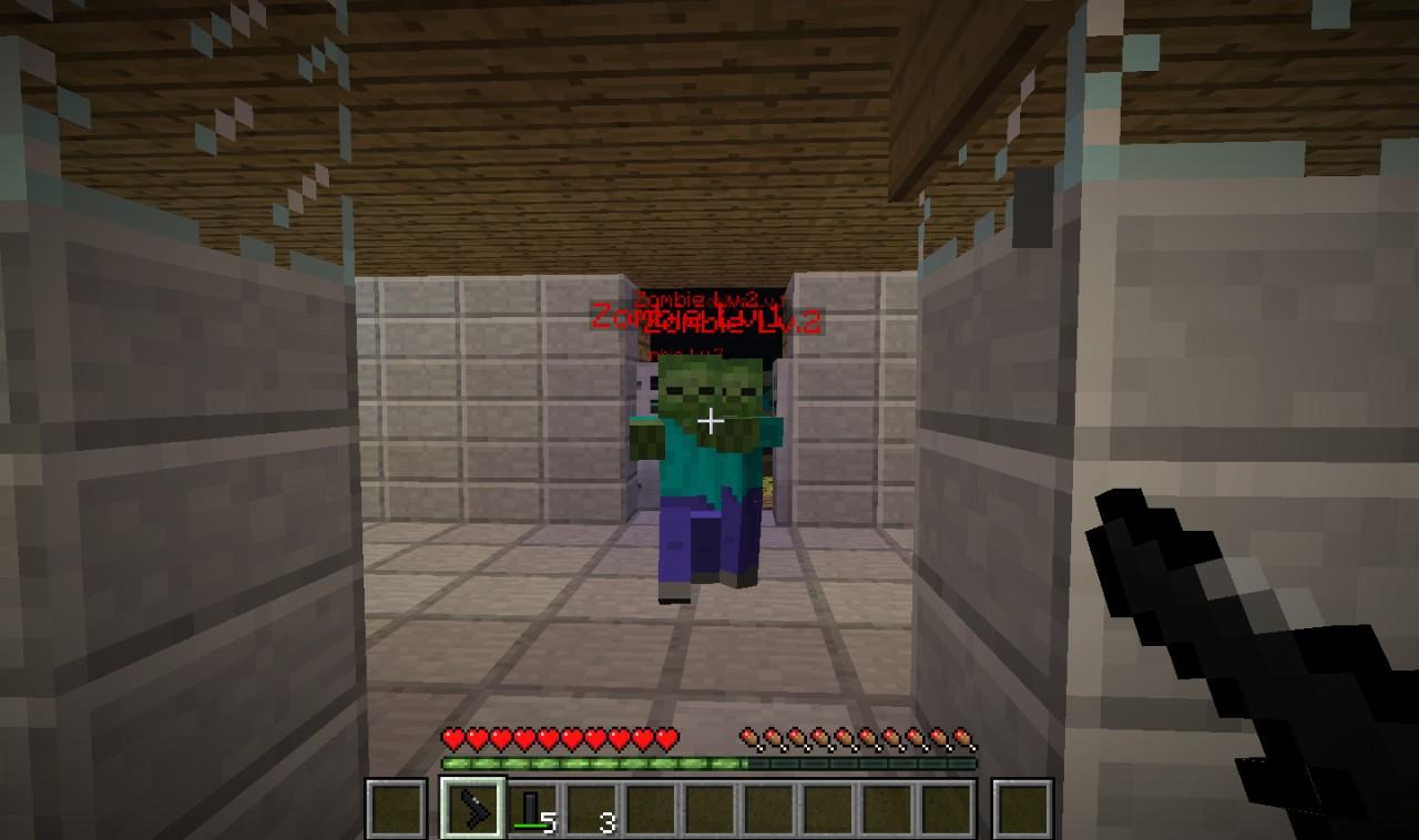 1 2 5 Custom NPC #39 s Zombie Invasion Minecraft Project