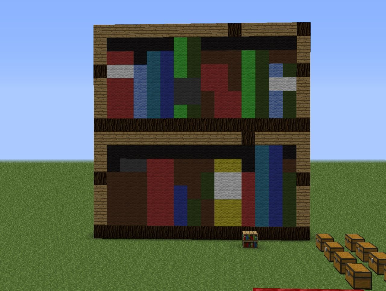 Giant Block Pixel Art