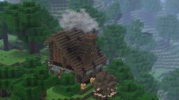 Hunter's hut Minecraft Map & Project