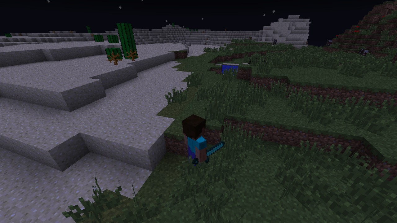 Herobrine mob mod 125 minecraft mod herobrine in the desert and plain biome publicscrutiny Choice Image