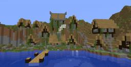The Town of Cuthoolooin Minecraft Map & Project