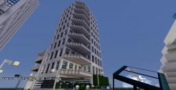 City Skyscaper Minecraft Map & Project
