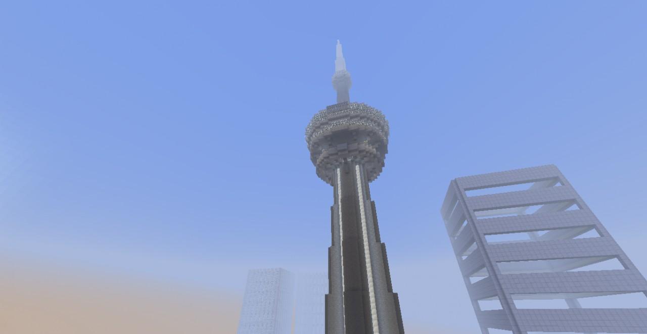 Cn Tower Minecraft Map