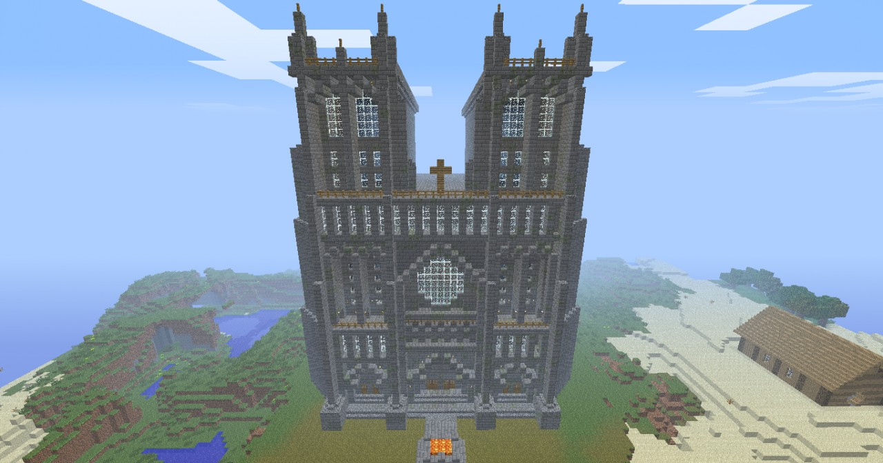 Finished Roman Cathedral