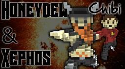 Honeydew & Xephos Chibi ! Minecraft