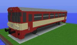 ČD810 (next train project) 1block=10cm Minecraft Map & Project