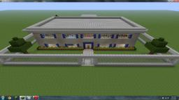 Fenced Mansion Minecraft Map & Project