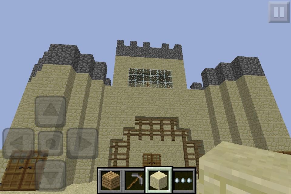 minecraft pe castle/stadium Minecraft Project