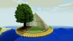 Luxury Oasis Arena | iPodmail Minecraft Map & Project