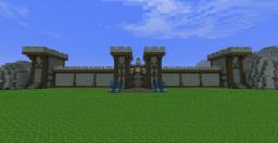 WoW inspired Castle stormwind/Gilneas Minecraft Map & Project