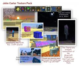 John Carter Texture Pack for Minecraft 1.7.4