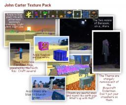 John Carter Texture Pack for Minecraft 1.7.4 Minecraft Texture Pack