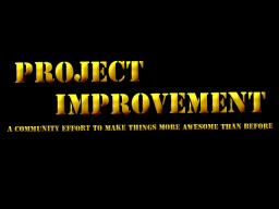 Project Improvement Minecraft Map & Project