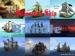 Sillouete's Ship Bundle Minecraft Map & Project