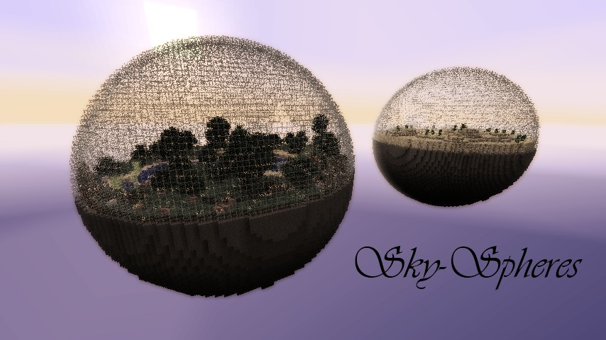 Sky-spheres Minecraft Project