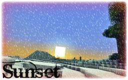 Sunset Minecraft Blog