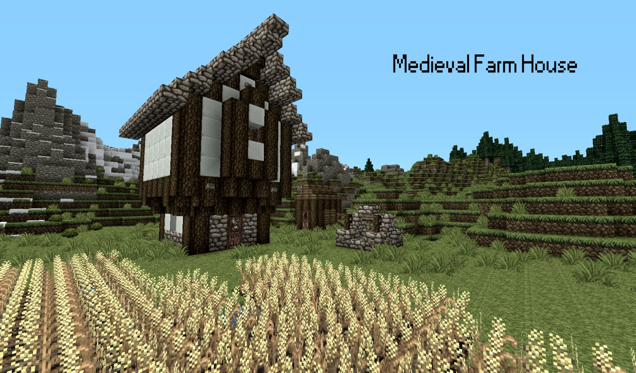 Medieval Farm House Minecraft Project : Tital2305292 from www.planetminecraft.com size 1280 x 752 jpeg 306kB