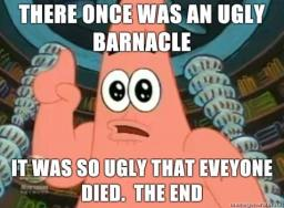 an ugly barnicle Minecraft Blog