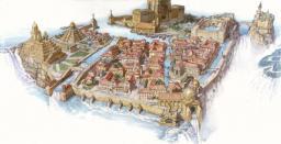 Dinotopia- Waterfall City Minecraft Map & Project