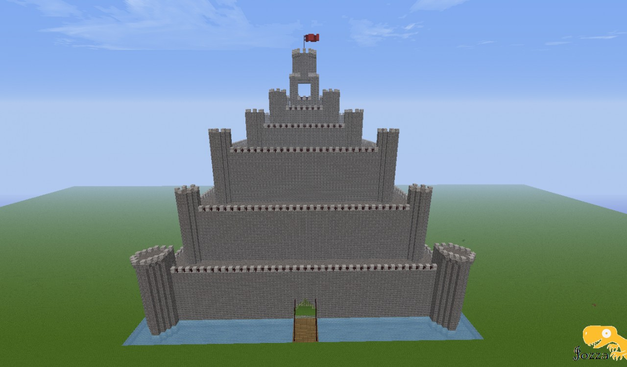 Flat map castle minecraft project flat map castle gumiabroncs Gallery