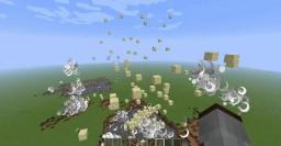 Sand Explosion Fireworks! Minecraft Map & Project