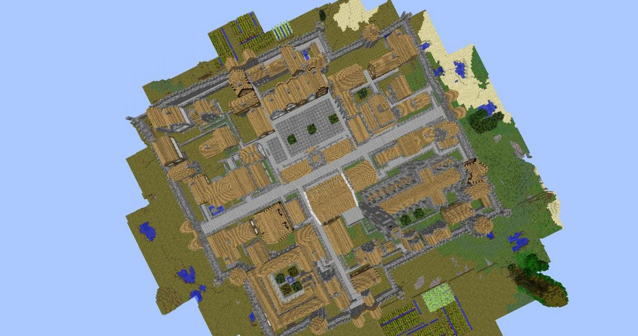 World of MINECRAFT RPG Map Minecraft Project