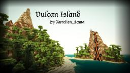 [1.5 Ready!] Vulcan Island - Custom Terrain with volcano ( Objectifs, ores, caves, ravines, etc ) Minecraft