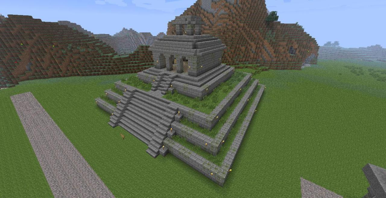 Mayan Temple Minecraft Project