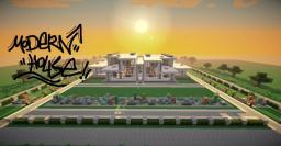 modern house,villa Minecraft