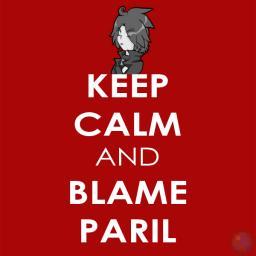 """Keep Calm and Blame Paril"" Minecraft Blog"