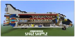 My space shuttle Minecraft Map & Project