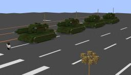 "I Recreated the famous photo ""Tank Man"""