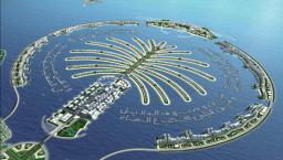 Dubai ~ The palm island by craftwars-slo [ONLY SANDSTONE MODEL!] Minecraft Project