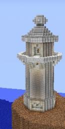 Wuhu Island Lighthouse / Leuchturm (Wii Sports Resort) Minecraft Map & Project