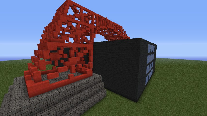 Tokyo Tower Minecraft Project